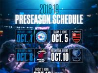 Preseason Schedule