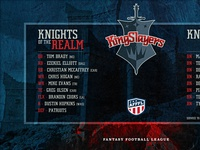 Kingslayers Draft