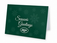 Jets Holiday Card