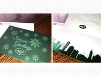 Jets Holiday Card   Printed
