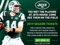Jets Season Tickets
