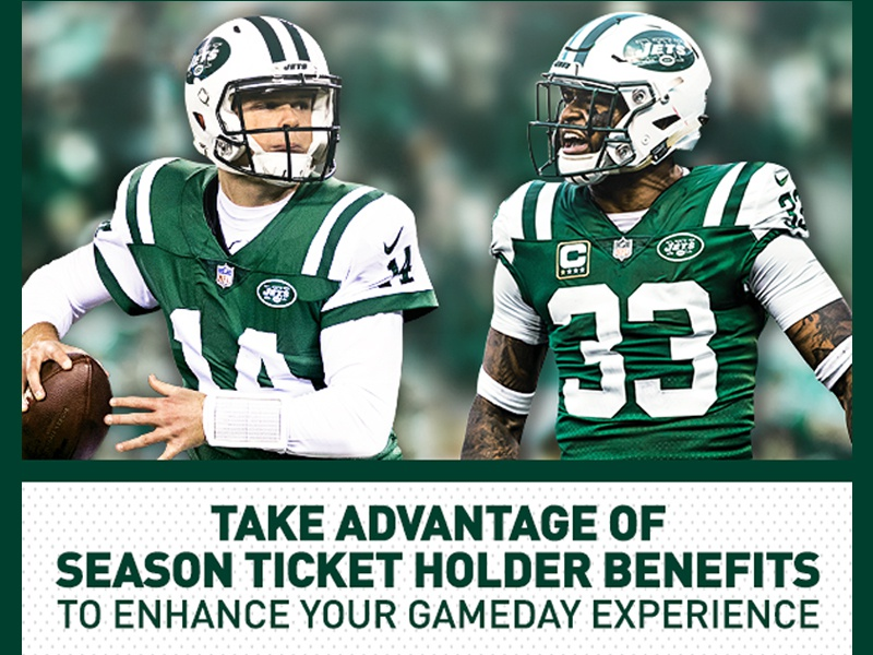 Mini Campaign Look print graphic design typography digital nfl new york city nyj football new york jets