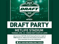 Draft Party Email