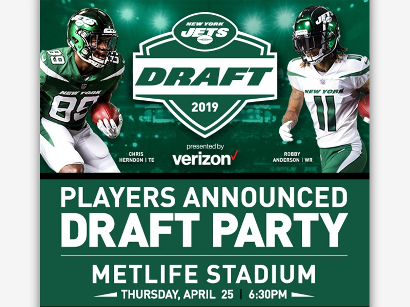 Image result for metlife draft party pics