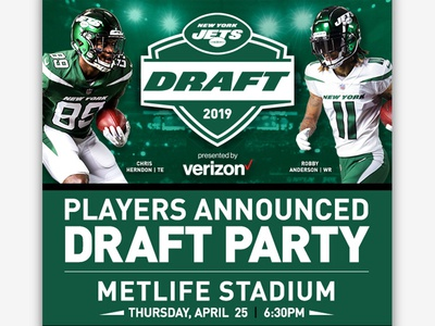 Draft Party - Players Announced