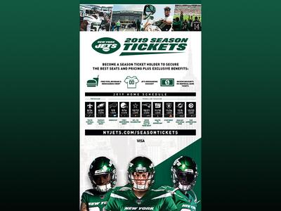 Season Ticket Print Ad
