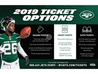 2019 Ticket Options