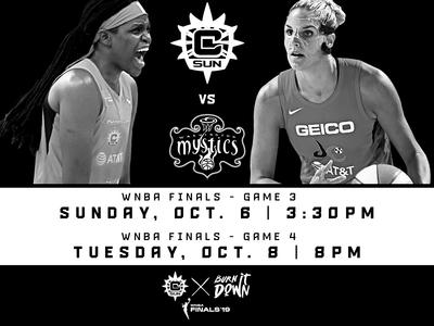WNBA FINALS GAME 3 & 4