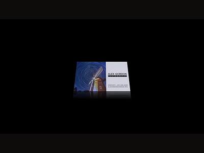 Alex Gordon NYC Photographer BC/LOGO typography branding animation