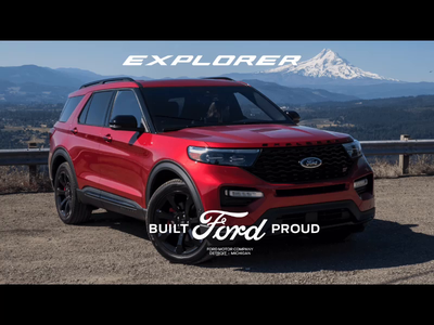 Ford Explorer Promo Cut Interpretation branding logo tumult hype animation vehicle ford explorer