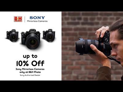 BH Sony for UNiDAYs Tech Deals Social Media advertising advert animation
