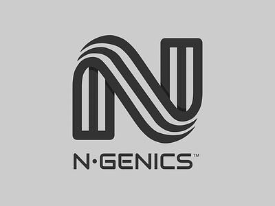 n•genics logo animation tumult hype design logo animation