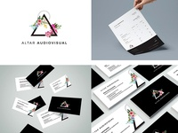 Corporate identity for Altar Audiovisual