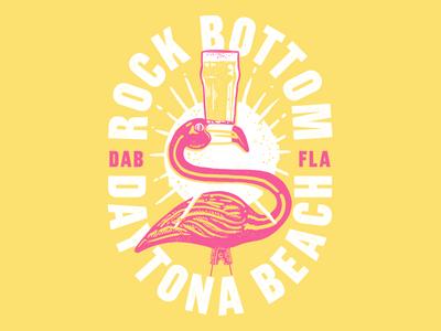 Rock Bottom Flamingo