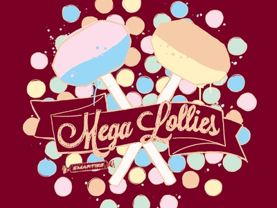Smarties Mega Lollies