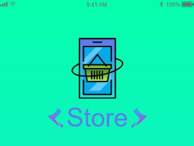 Store Mobile app mobile design adobe photoshop adobe xd ux ui