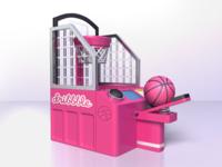 Dribbble Shooting Machine