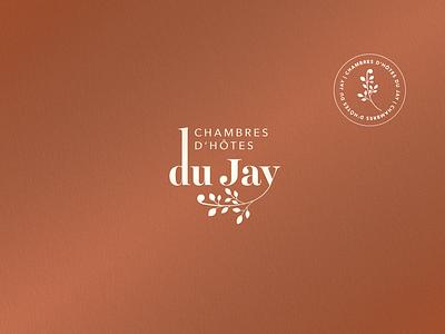Branding - Chambres d'Hôtes du Jay icon vector logo design branding