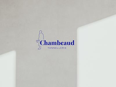 Branding - Cooperage minimalist logo minimalist wood cooperage logo branding vector design