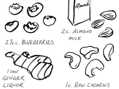 Blueingredients
