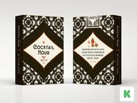 Cocktail Hour Playing Cards on Kickstarter - Tuck Box