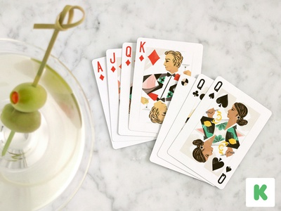 Miami Rummy / Cocktail Hour games cocktail hour playing cards illustration kickstarter cocktail pattern traditions family