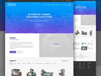 Industrial Homepage