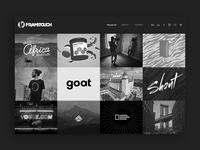 new frametouch webdesign