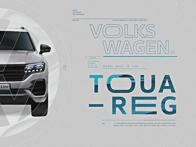 Volkswagen | Look Development 02 styleframes clean minimal distortion pixelsort typography glitch car blue