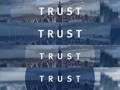 RBC Trust - Style Development 01 developement style frame ux minimal ui illustration effects design typography