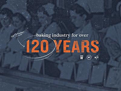 Weston Foods   Year 1908 - 03 half tone typogaphy vintage retro texture grain bakery development concept style frame