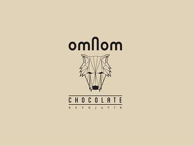 Logo: Omnom Chocolate branding logo design