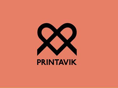 Logo for Printavik Screen Printing Studio logo