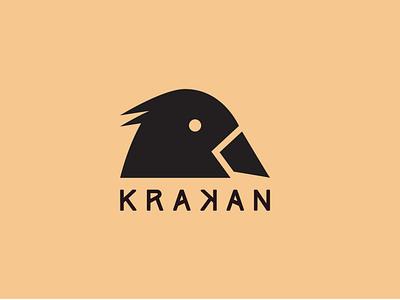 Logo for Krakan - an outdoor activities company. logo design