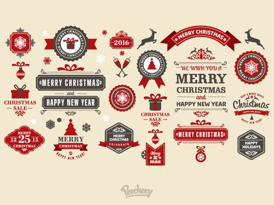 Christmas is getting closer and closer adobe vector free stickers winter christmas