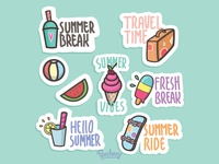 Summer Stickers again