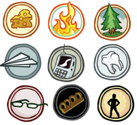 Colored Badges