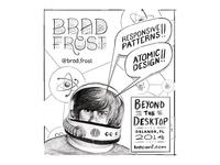 Brad Frost Sketch - For BDConf Orlando