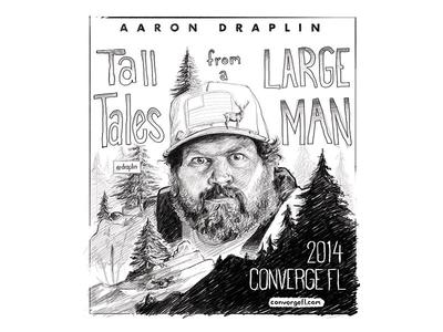 Aaron Draplin Sketch for ConvergeFL