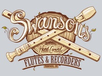 Swanson's Hand-Carved Flutes