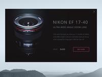 Product Card Nikon Lense