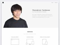 Tandavas Personal Website