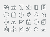 Airbnb Icons - Continued