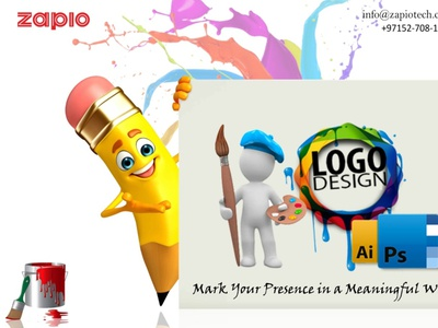 Logo Designing Company in Dubai logo designer branding zapio website design web development agency website builders design logo design logo design agency dubai