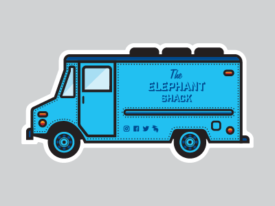 Food Truck Swag chevy van foodtruck detroit