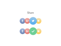 Social Share — Daily UI Challenge #010