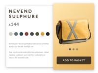 E Commerce Shop — Daily UI Challenge #012