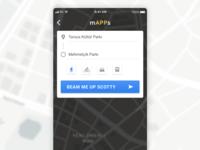 Location Tracker — Daily UI Challenge #020