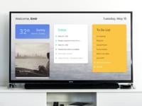 TV App — Daily UI Challenge #025