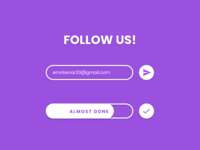 Subscribe — Daily UI Challenge #026
